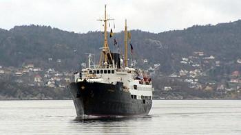 Video Nordstjernen la til kai i Bergen for siste gang