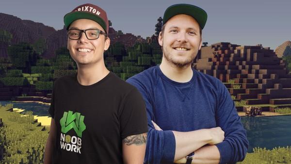 Vi bygger Norge i Minecraft!
