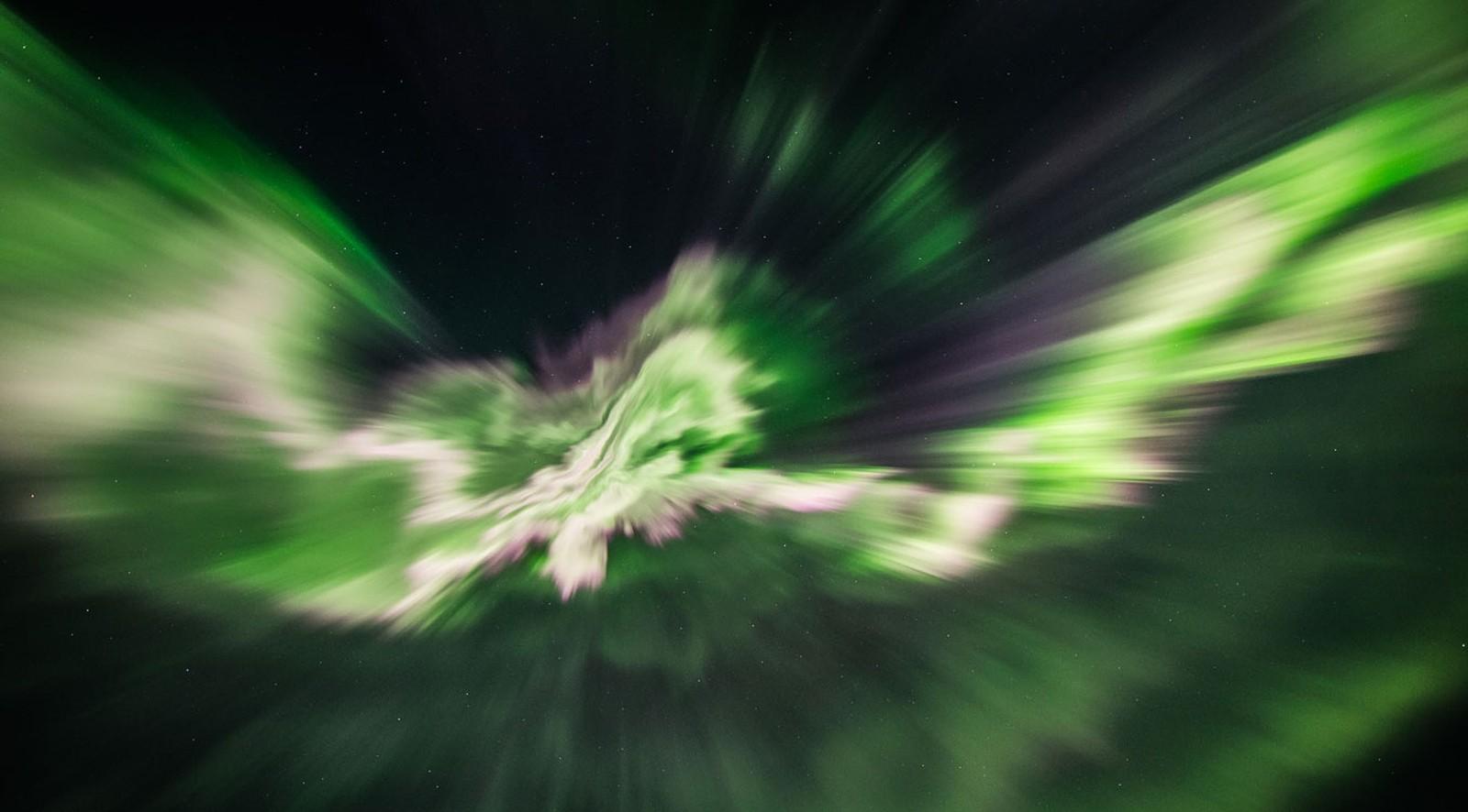 Nordlys over Leka