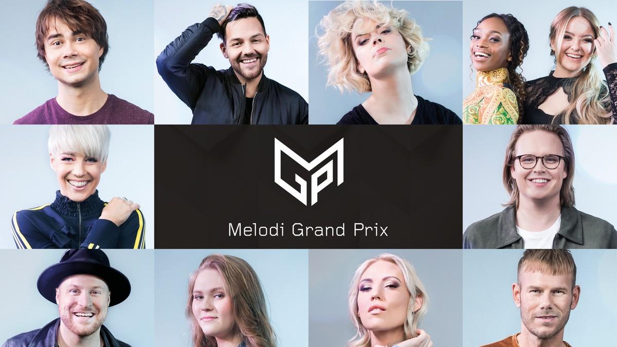 Her er artistene i MGP 2018 – Melodi Grand Prix – Eurovision Song Contest – NRK