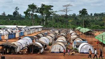 Flyktningeleir i Duekoue