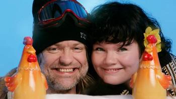 Ragnhild Silkebækken og Alex Rosén
