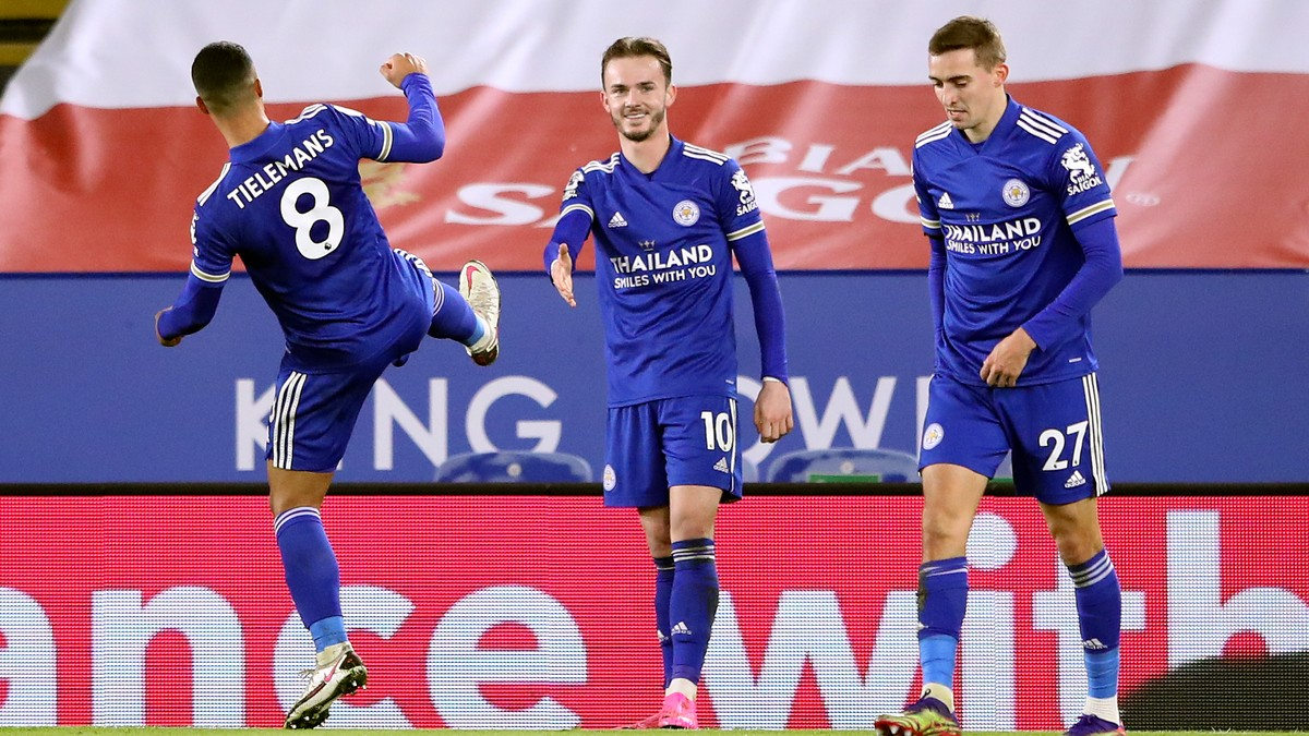 Leicester klatret forbi Liverpool