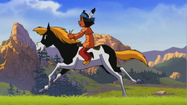 Fransk animasjonsserie. Den lille indianergutten Yakari har en magisk evne til å forstå og snakke med alle dyr. Yakaris bestevenner er indianerjenta Regnbue og ponnien Lille Torden, og sammen hjelper de både mennesker og dyr.