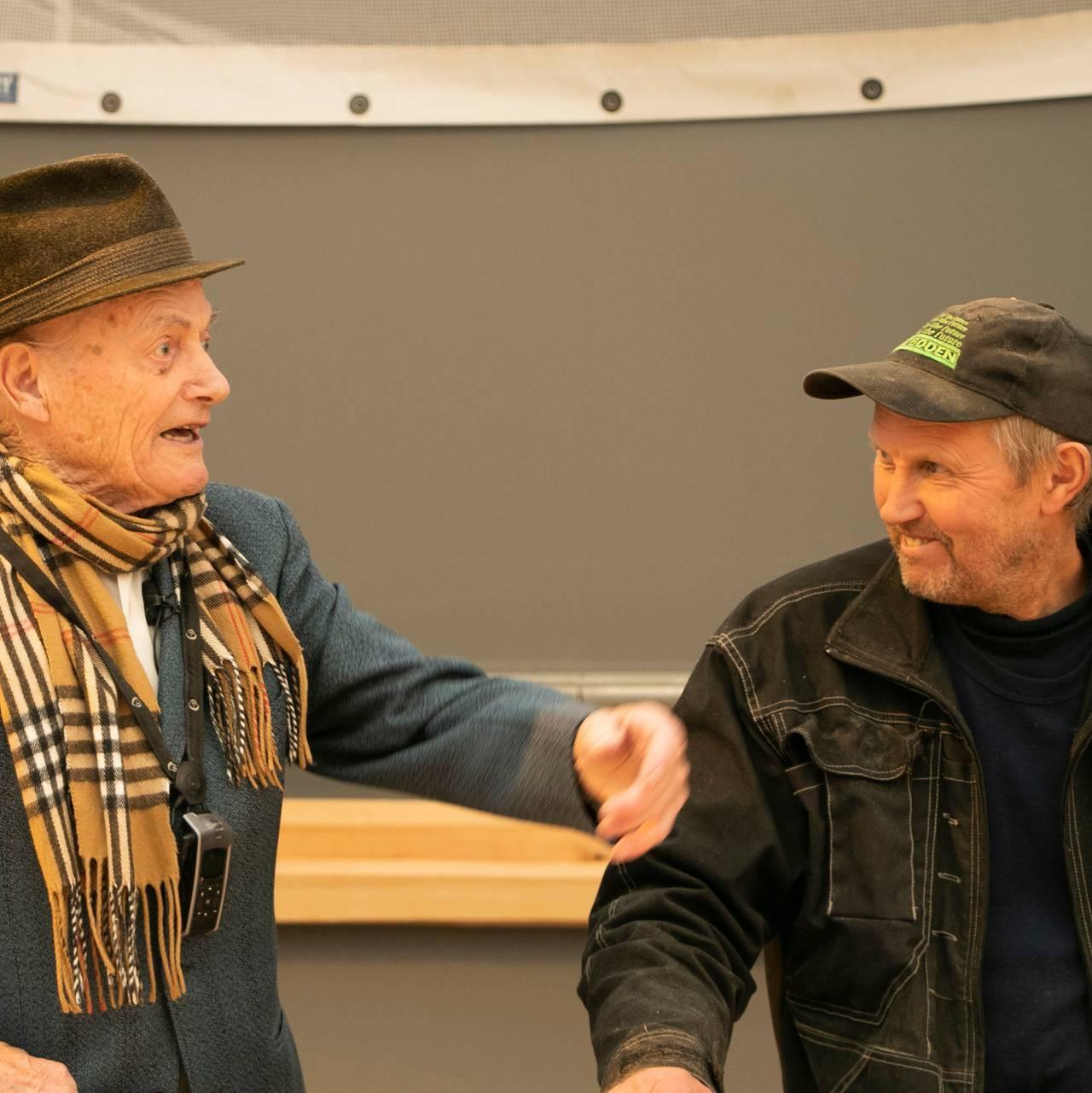 Saxe og Jakob Bjørkedal