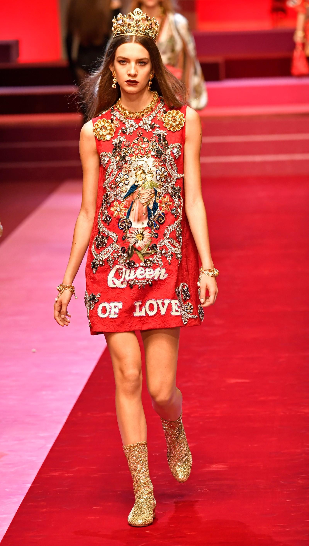 Dolce & Gabbana: Hjarterdronninga.