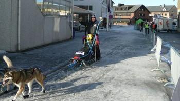 Leif Herleiksplass inn mot sjekkpunkt Kirkenes