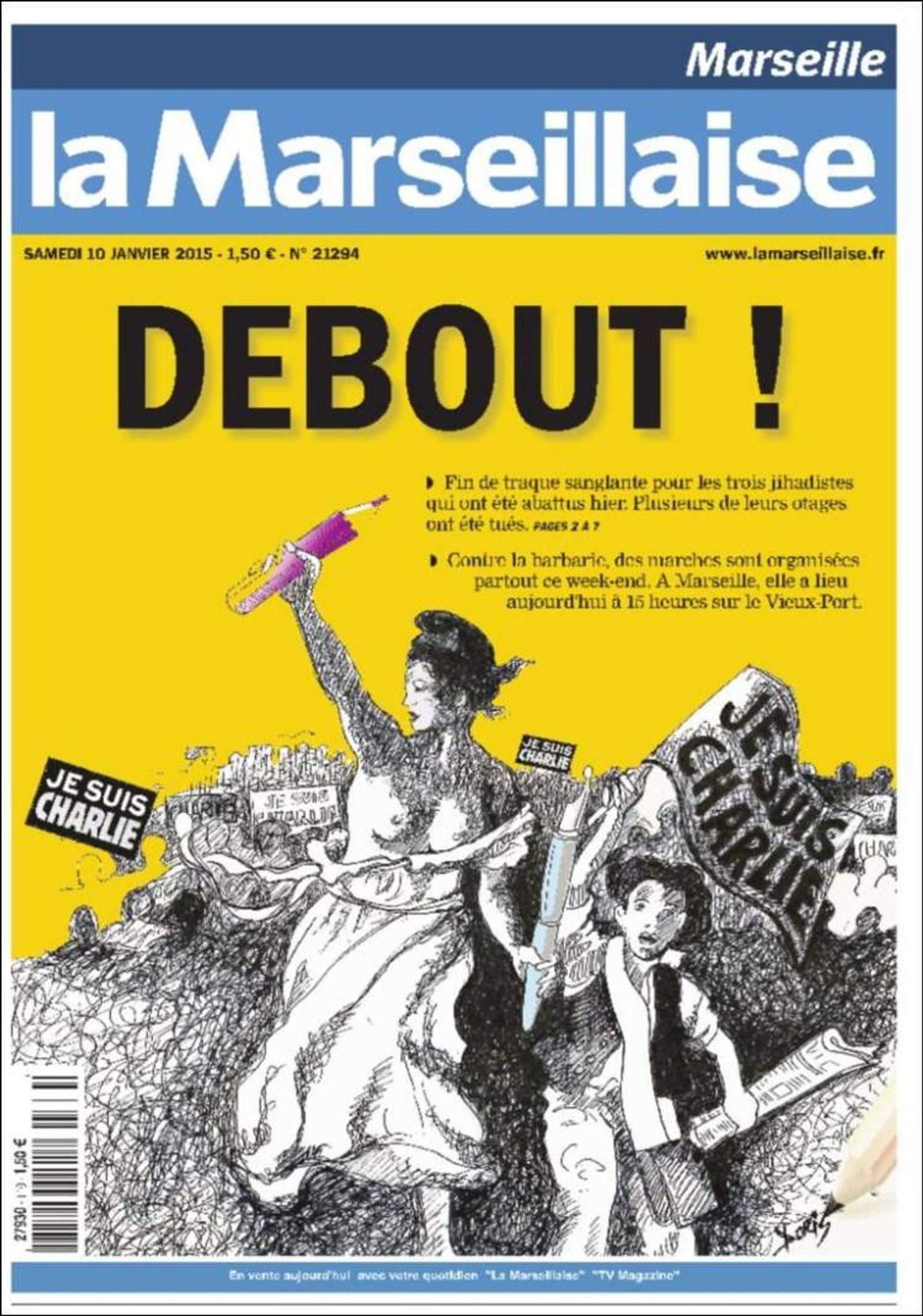 La Marseillaise: Opp å stå!