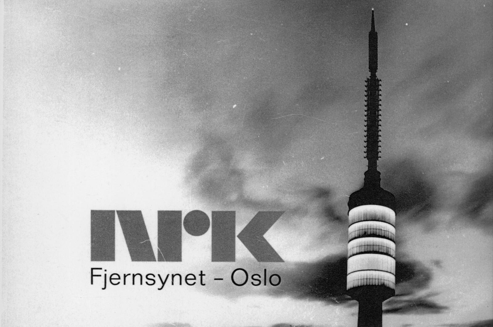 Tryvannstårnet var også brukt som stasjonsbilde eller prøvebilde den gang NRK var eneste fjernsynskanal i Norge.